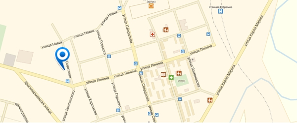 Объект на карте